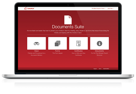 Documents Suite on a Macbook