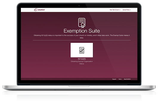 Exeption Suite on a Macbook